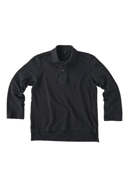 Kanoko Shiokaze Long-sleeved Square Polo Shirt (0521)