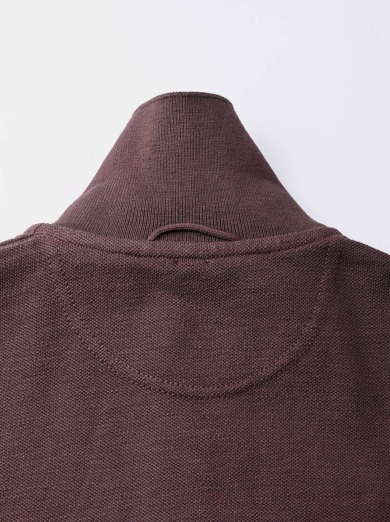Kanoko Shiokaze Long-sleeved Square Polo Shirt (0521)-10