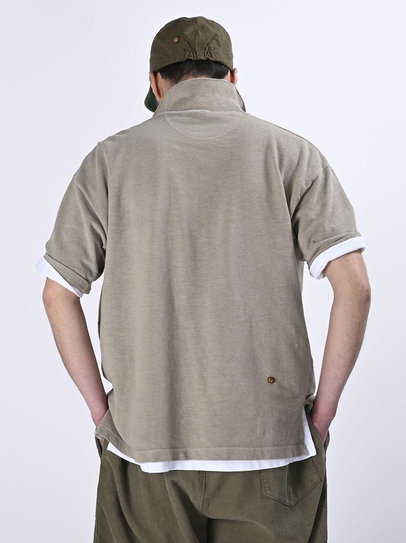 Kanoko Ocean Shiokaze Short-sleeved Polo Shirt (0521)-5