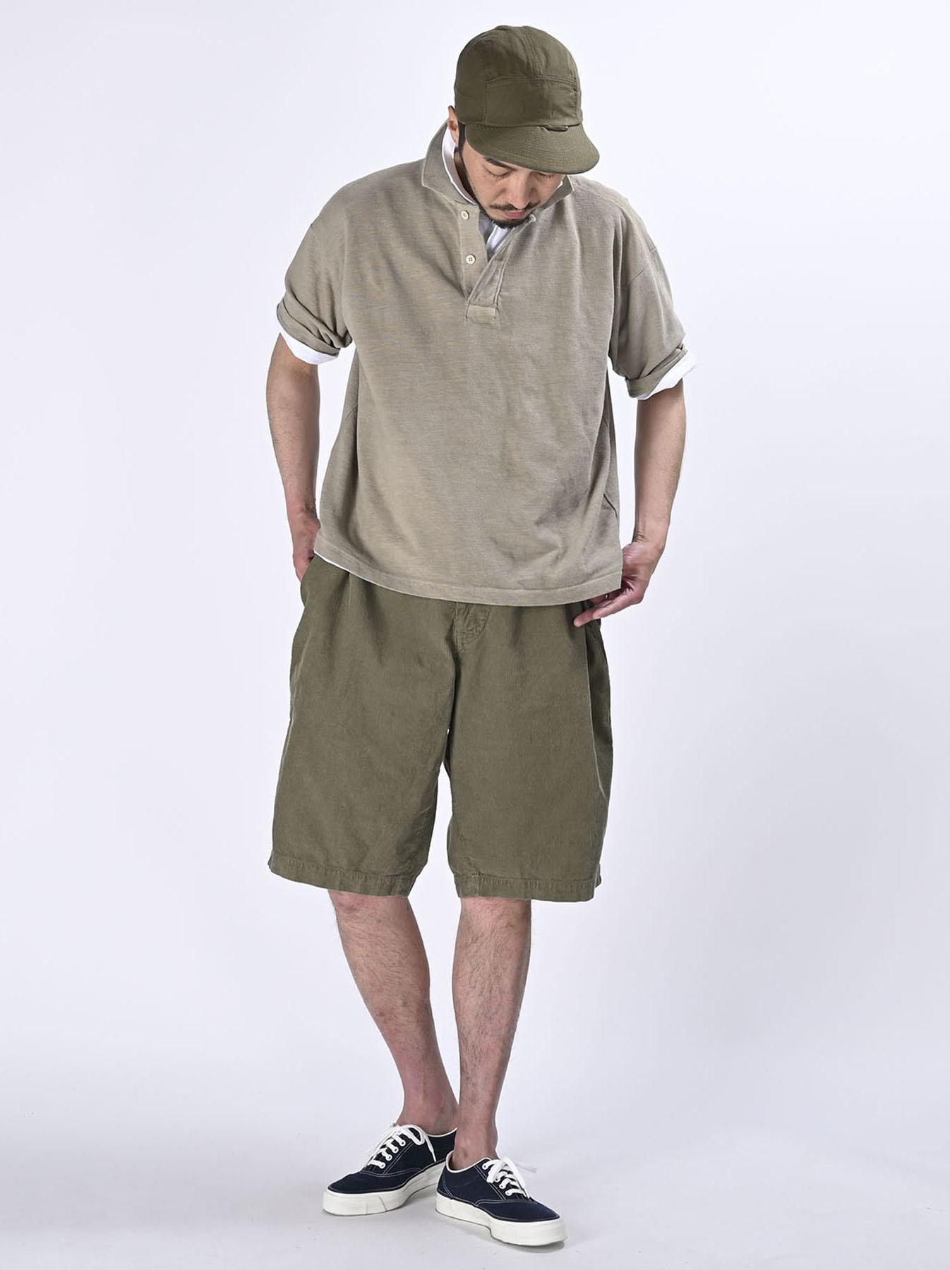 Kanoko Ocean Shiokaze Short-sleeved Polo Shirt (0521)-8