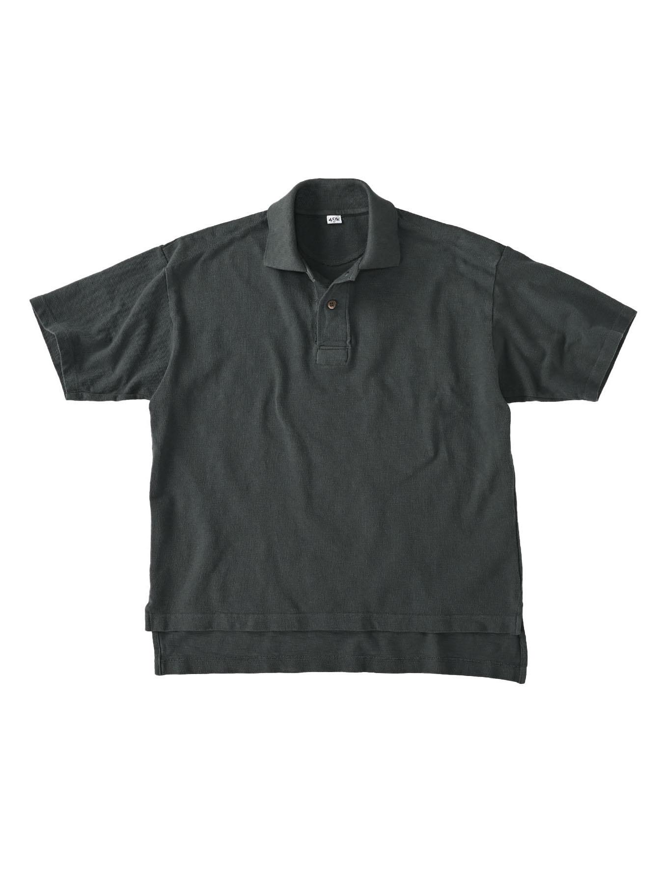 Kanoko Ocean Shiokaze Short-sleeved Polo Shirt (0521)-1