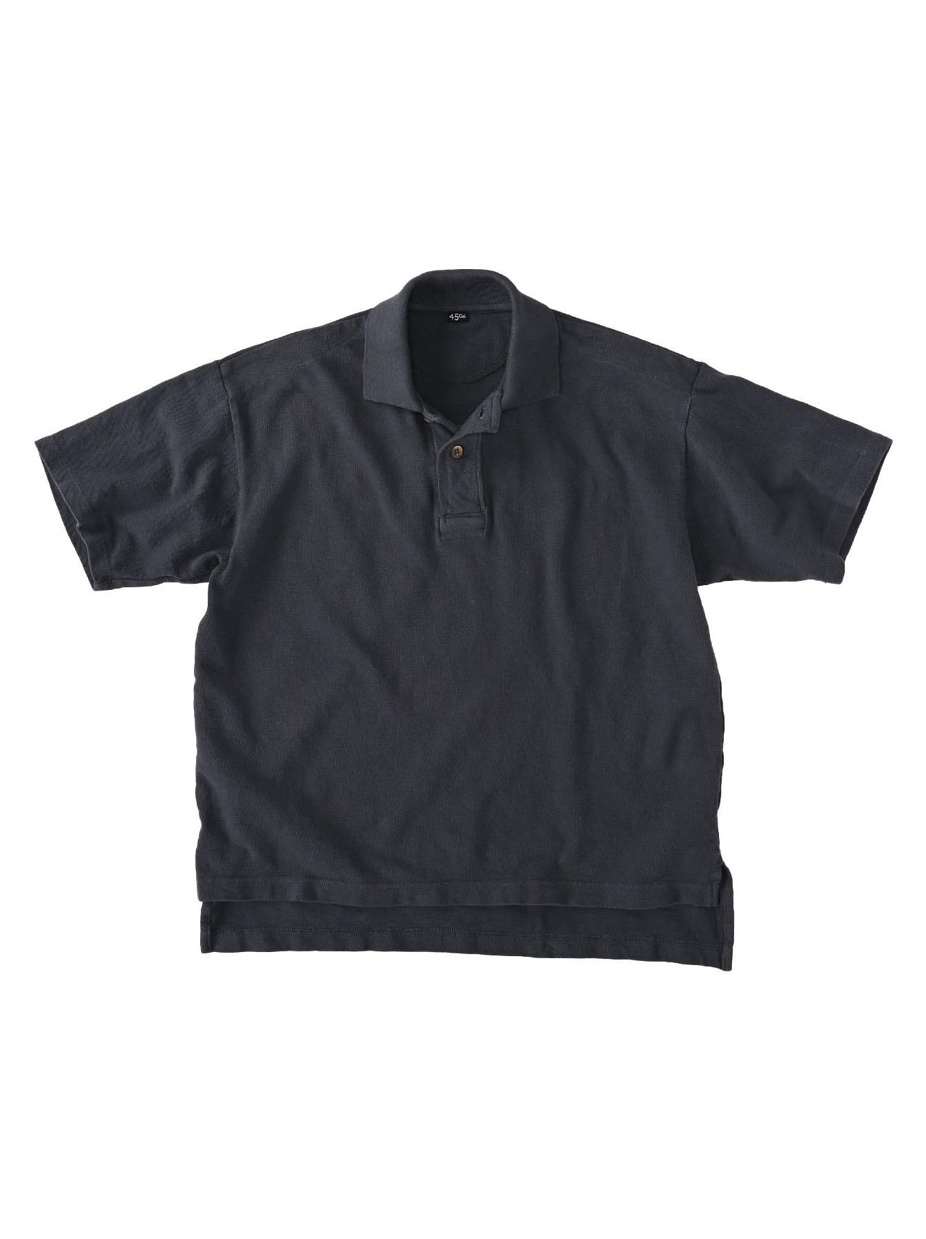 Kanoko Ocean Shiokaze Short-sleeved Polo Shirt (0521)-3