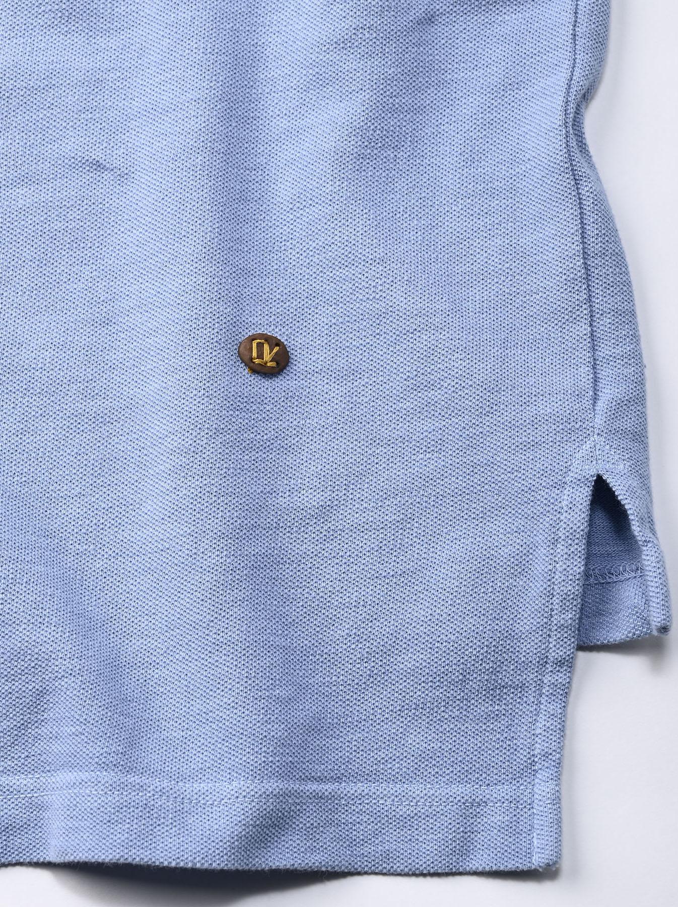 Kanoko Ocean Shiokaze Short-sleeved Polo Shirt (0521)-10