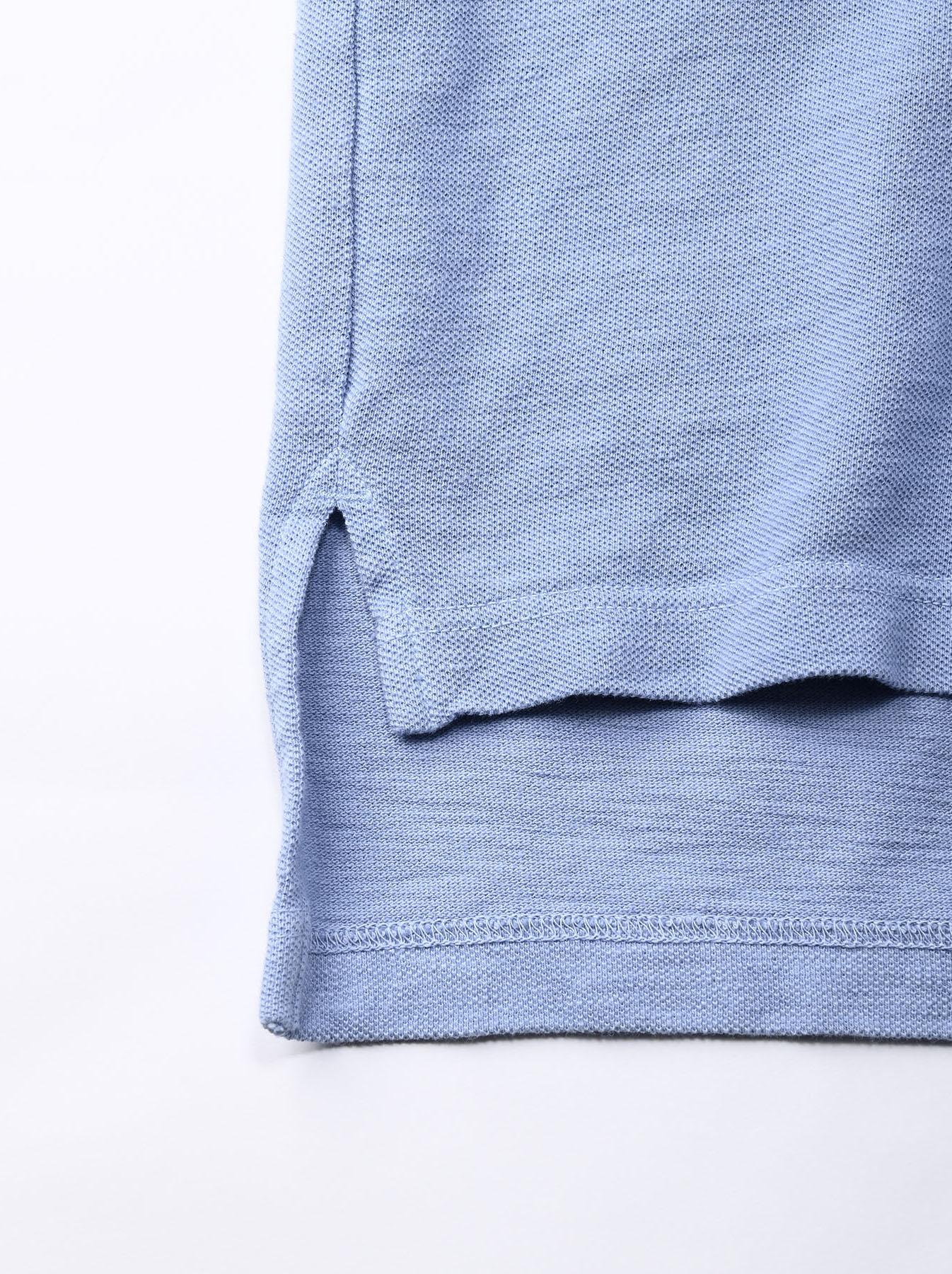 Kanoko Ocean Shiokaze Short-sleeved Polo Shirt (0521)-11