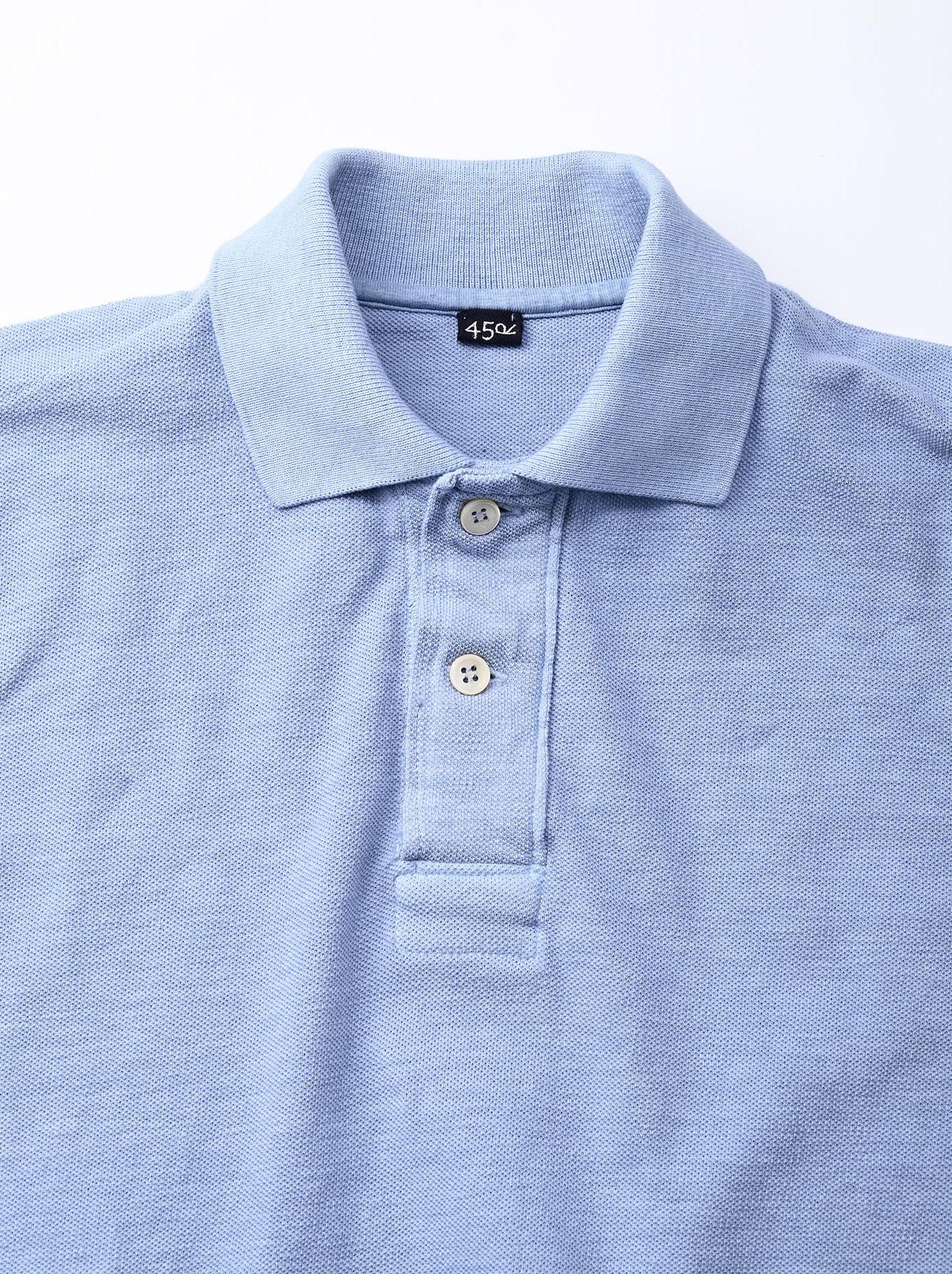 Kanoko Ocean Shiokaze Short-sleeved Polo Shirt (0521)-9