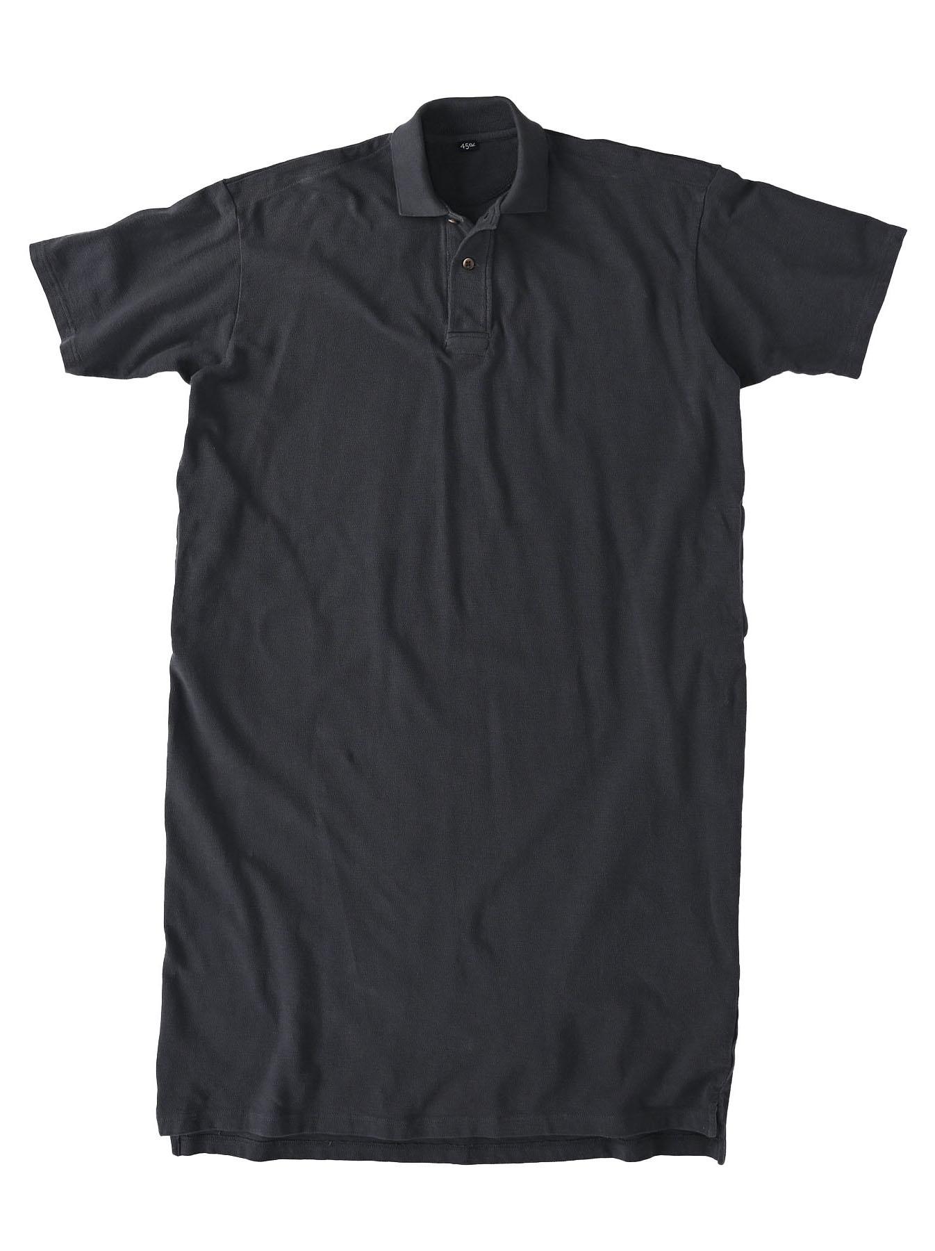 Kanoko Ocean Shiokaze Short-sleeved Polo Dress (0521)-5