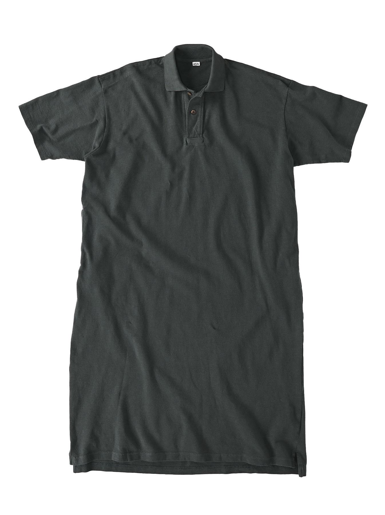 Kanoko Ocean Shiokaze Short-sleeved Polo Dress (0521)-6