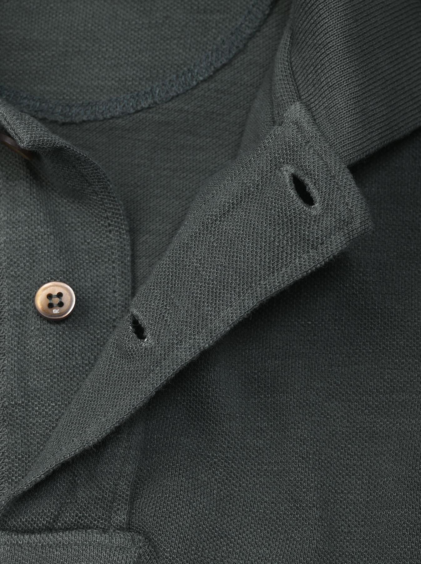 Kanoko Ocean Shiokaze Short-sleeved Polo Dress (0521)-9
