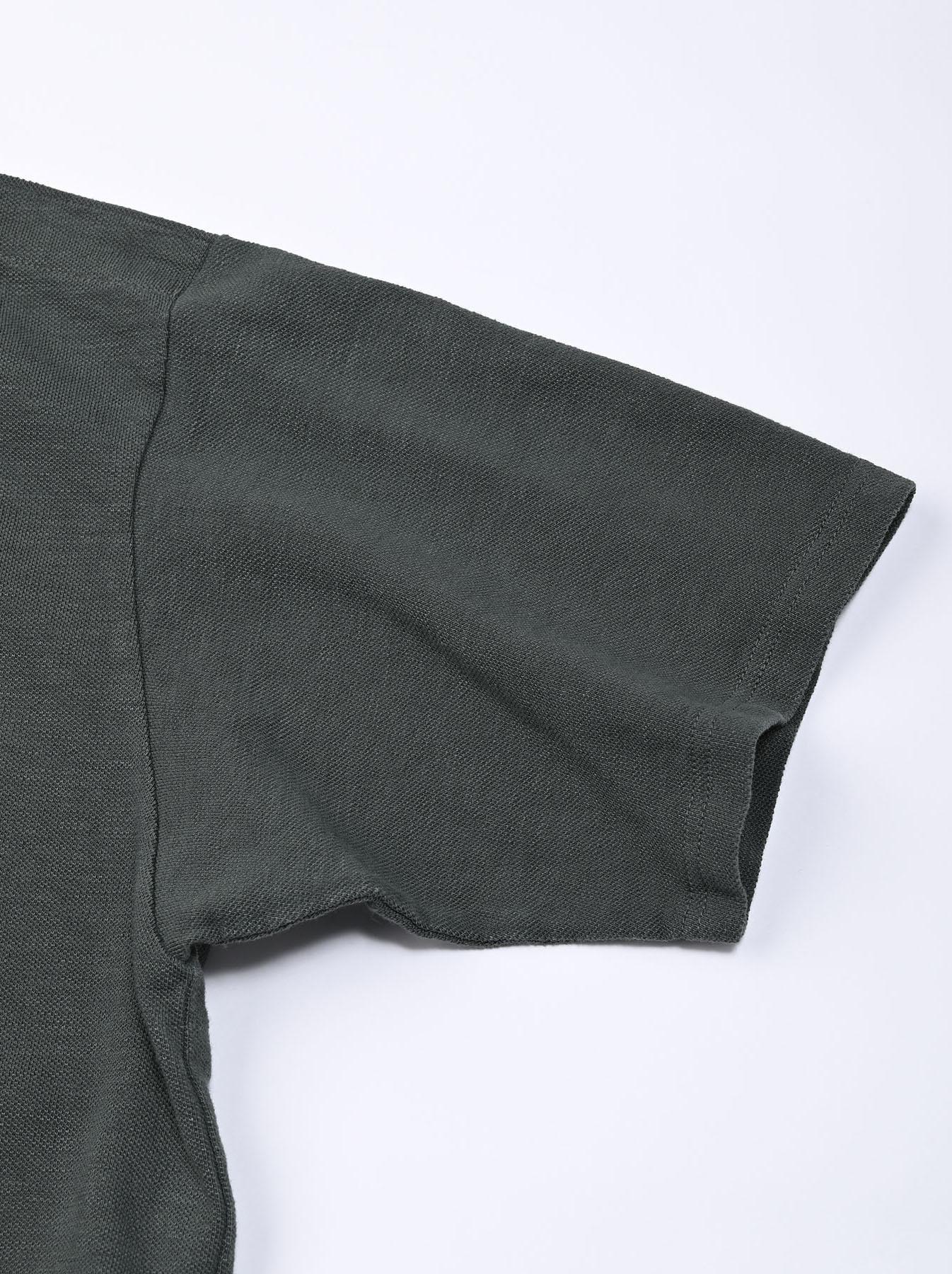 Kanoko Ocean Shiokaze Short-sleeved Polo Dress (0521)-10