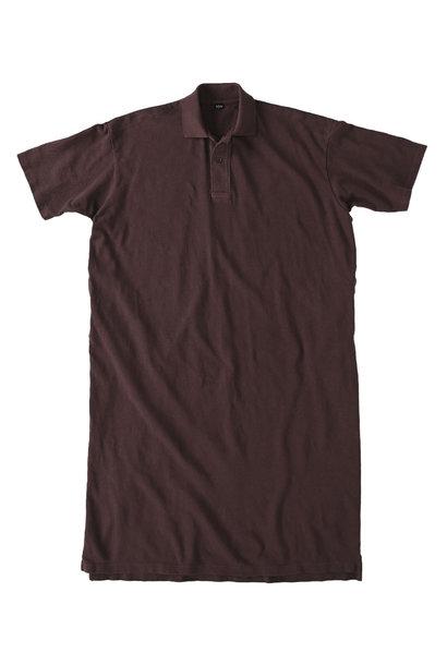 Kanoko Ocean Shiokaze Short-sleeved Polo Dress (0521)