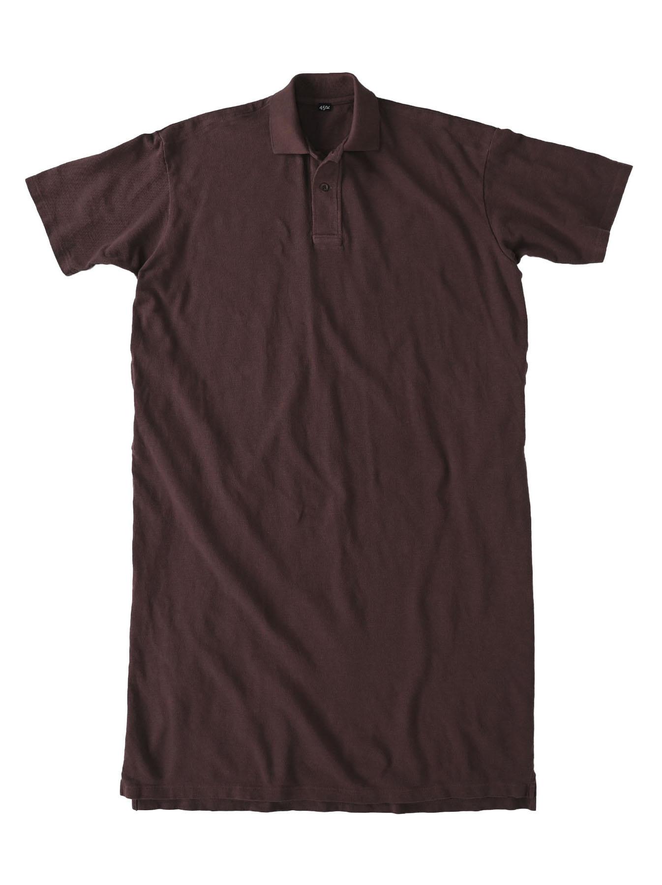 Kanoko Ocean Shiokaze Short-sleeved Polo Dress (0521)-1