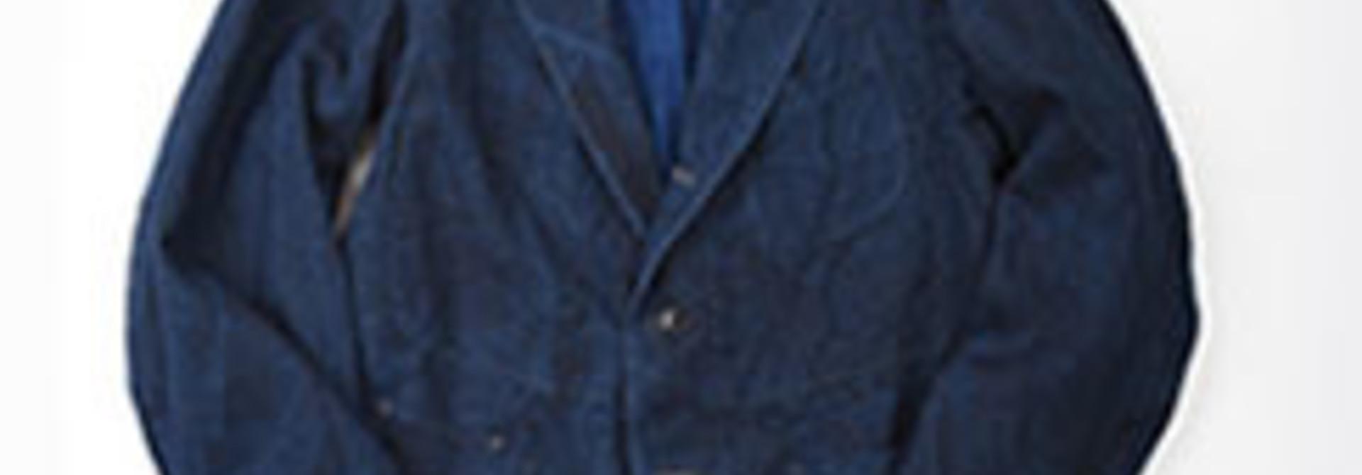 Indigo Linen Duck Asama Jacket