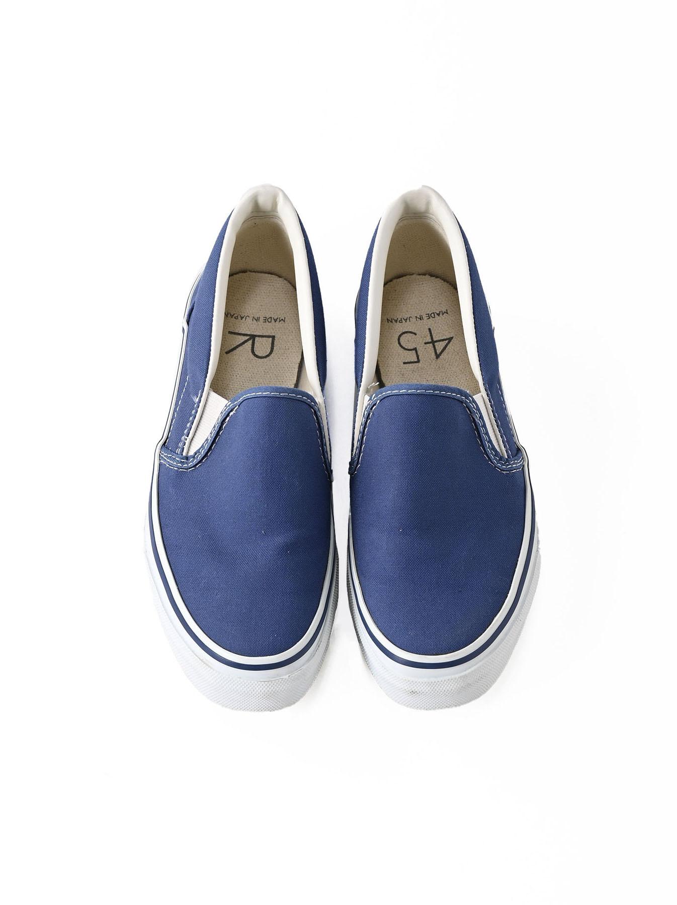 Cotton Canvas Slip-on Sneaker (0621)-1