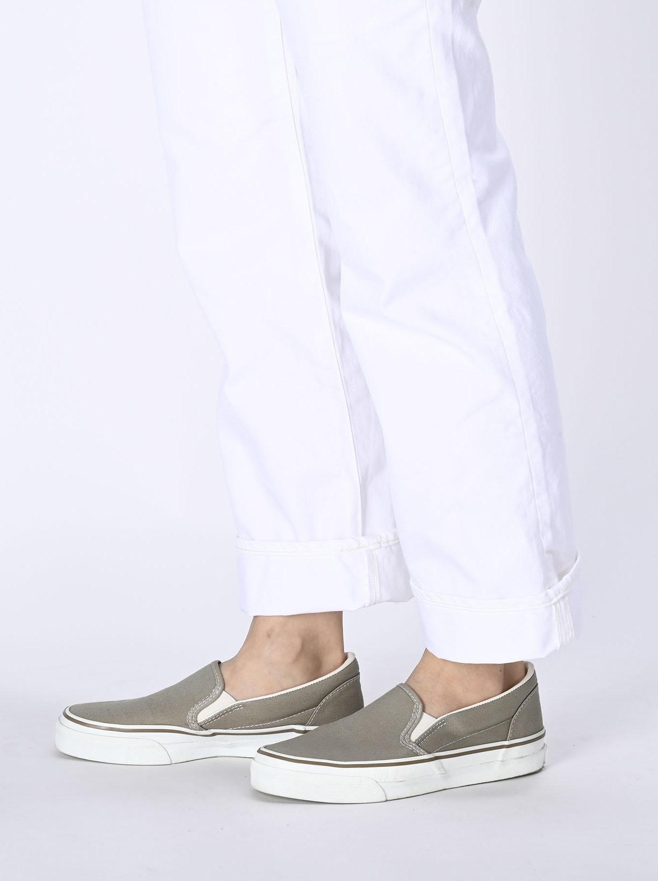 Cotton Canvas Slip-on Sneaker (0621)-5