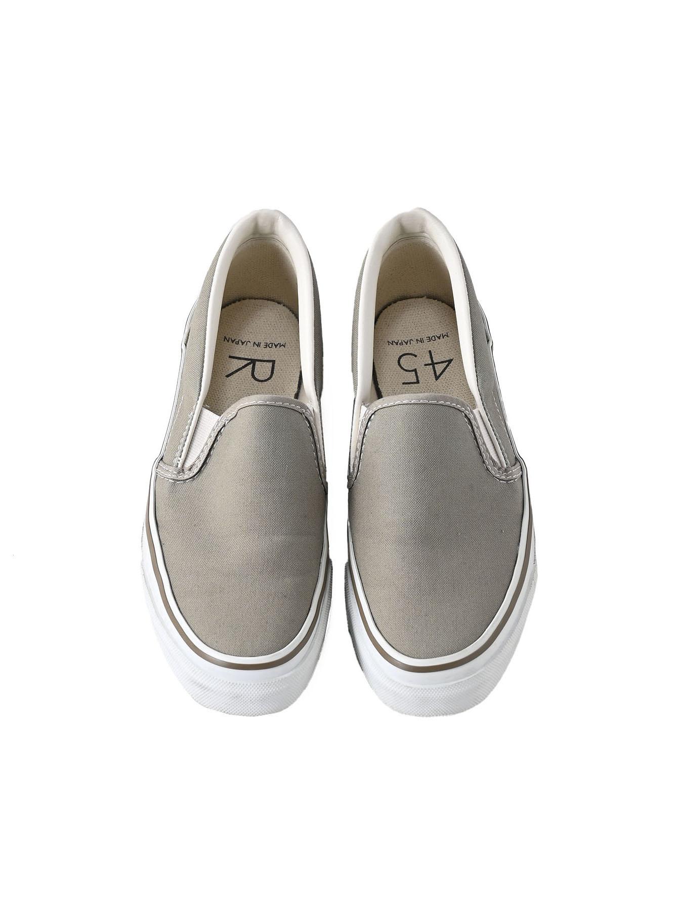 Cotton Canvas Slip-on Sneaker (0621)-3