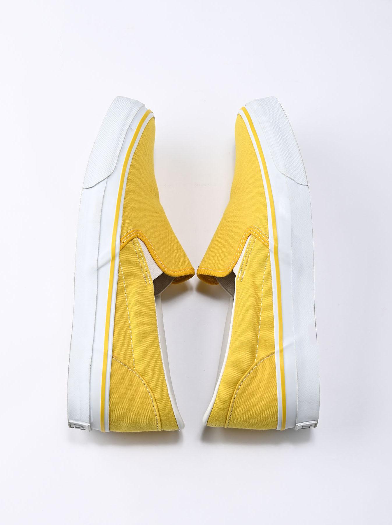 Cotton Canvas Slip-on Sneaker (0621)-8