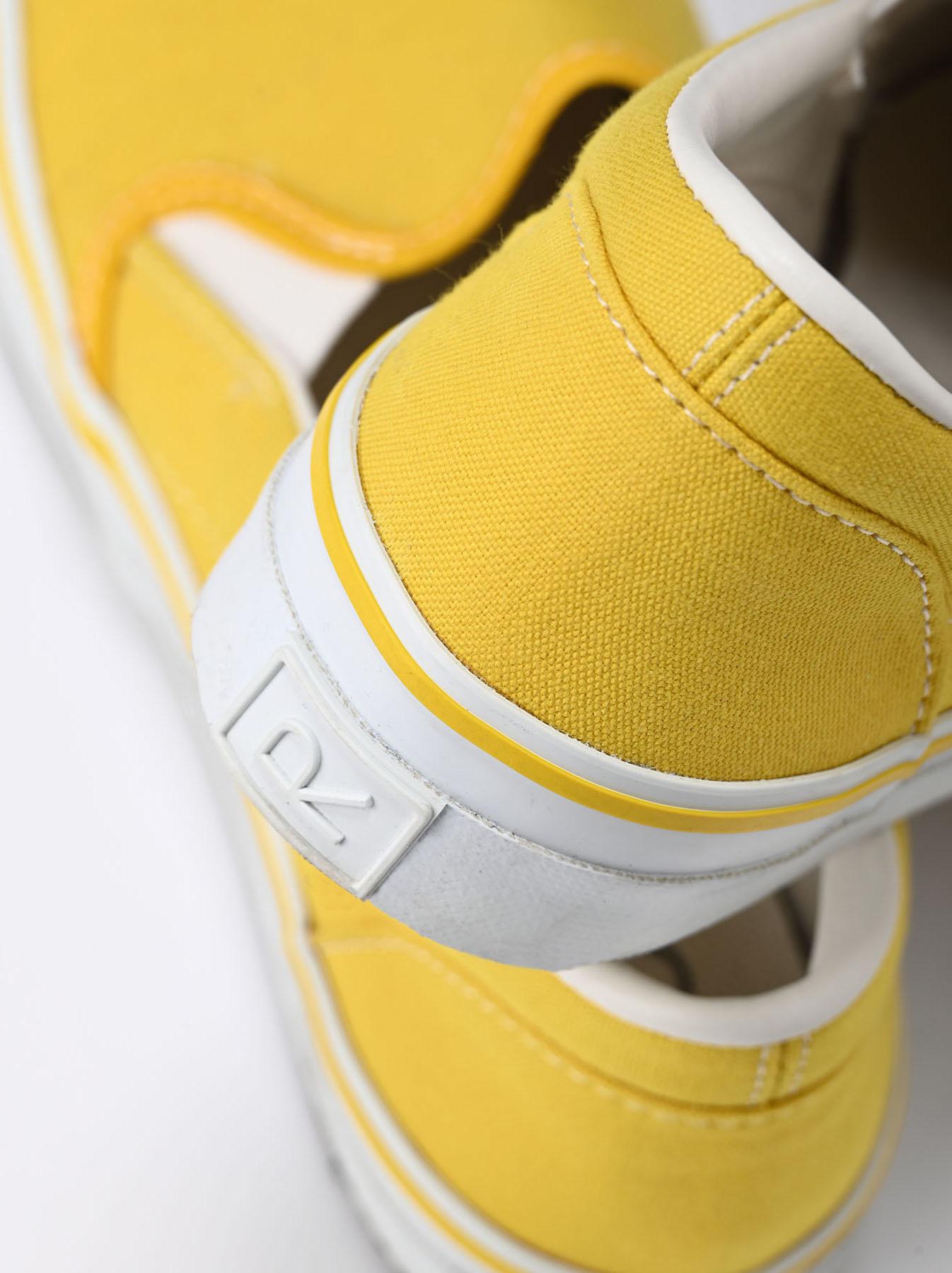 Cotton Canvas Slip-on Sneaker (0621)-6