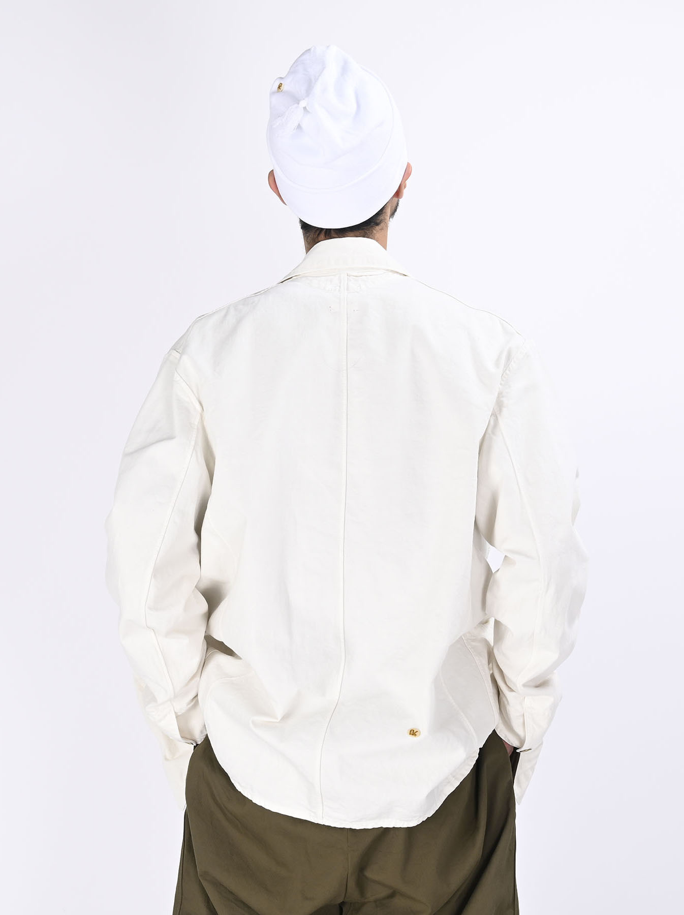 White 908 Coverall (0621)-5