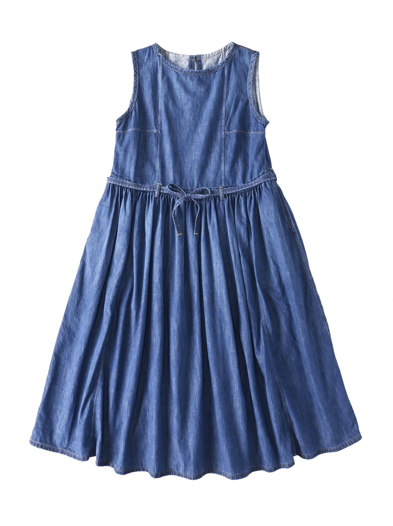 Denim Dress (0621)-1
