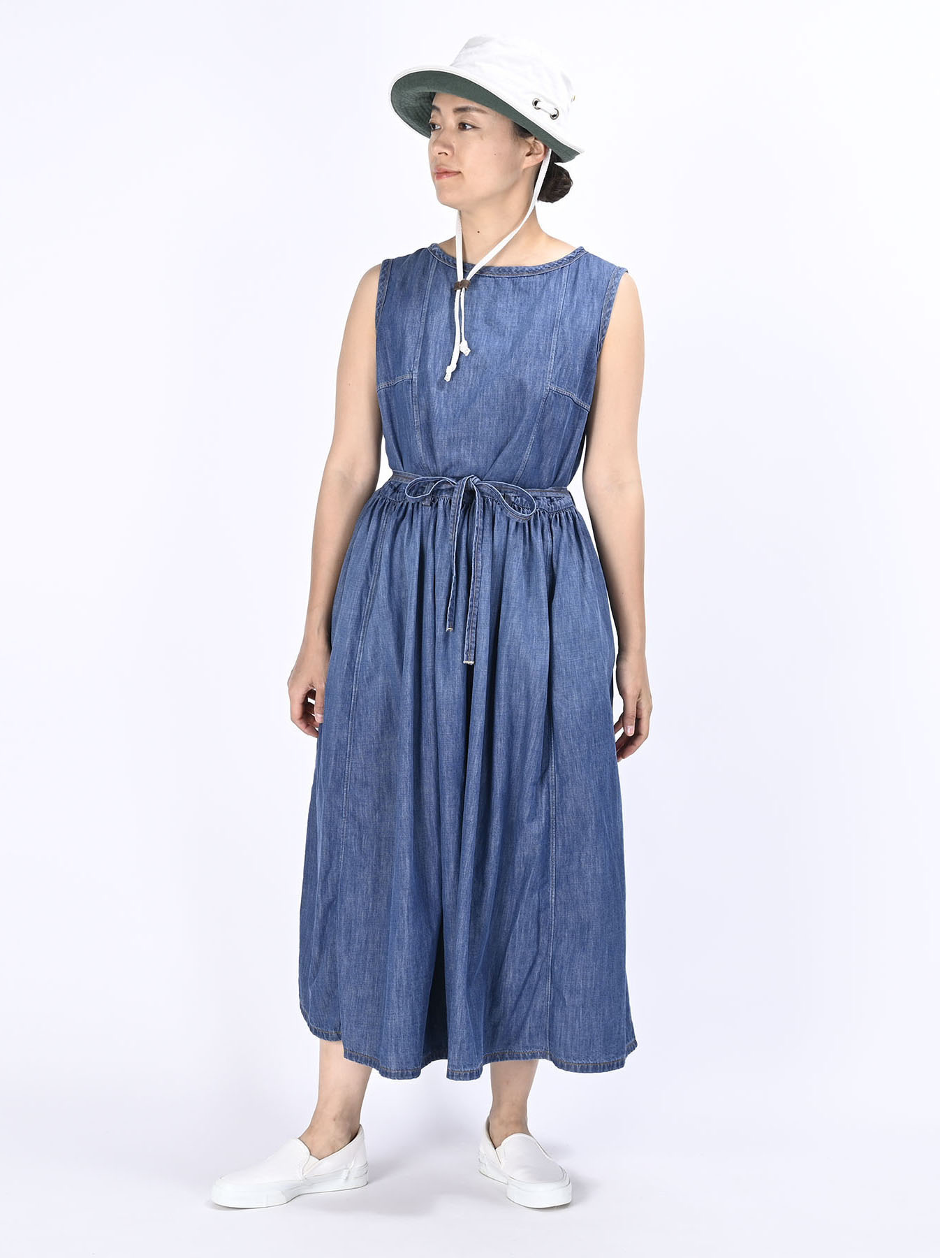 Denim Dress (0621)-5