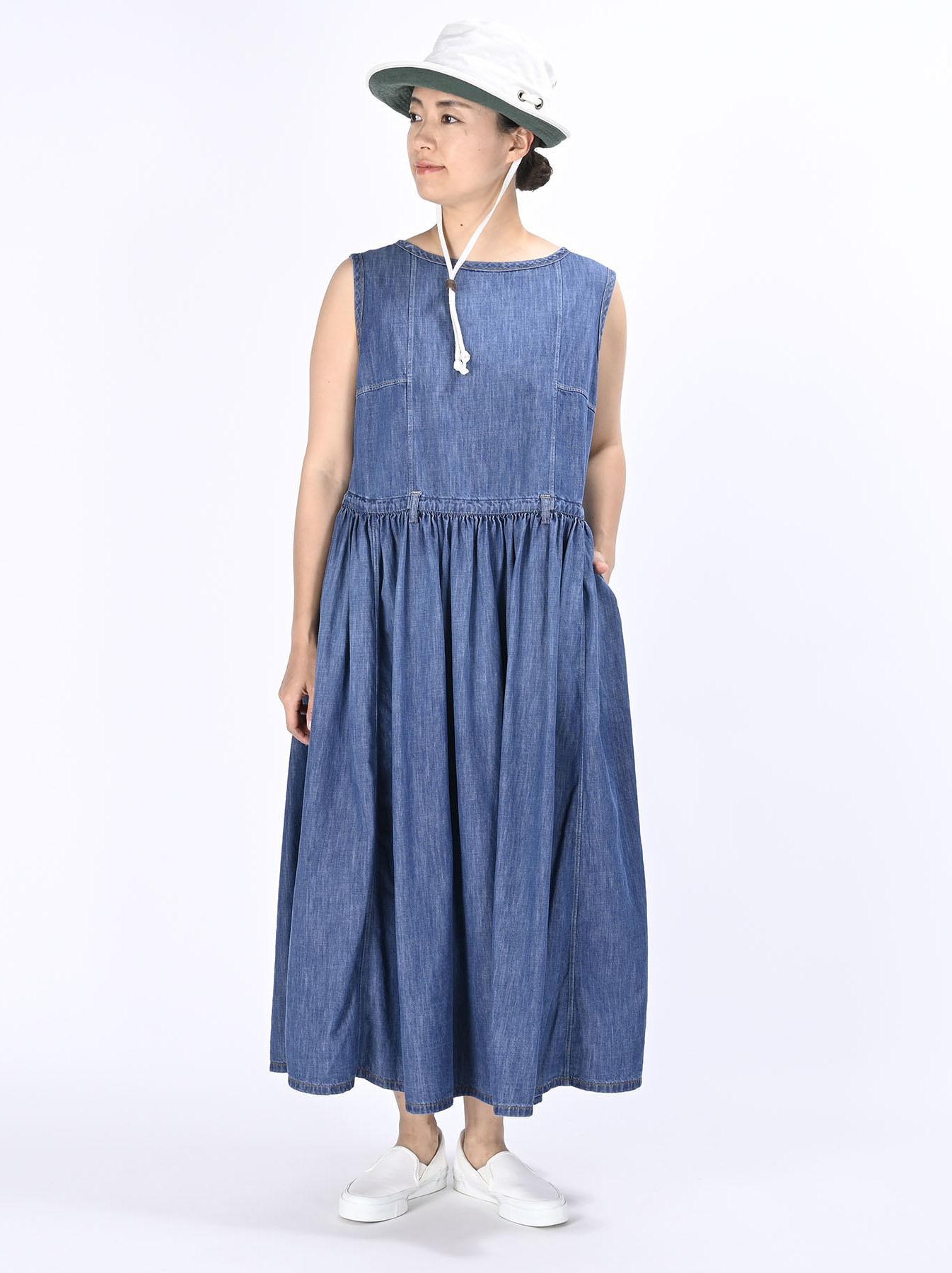 Denim Dress (0621)-2
