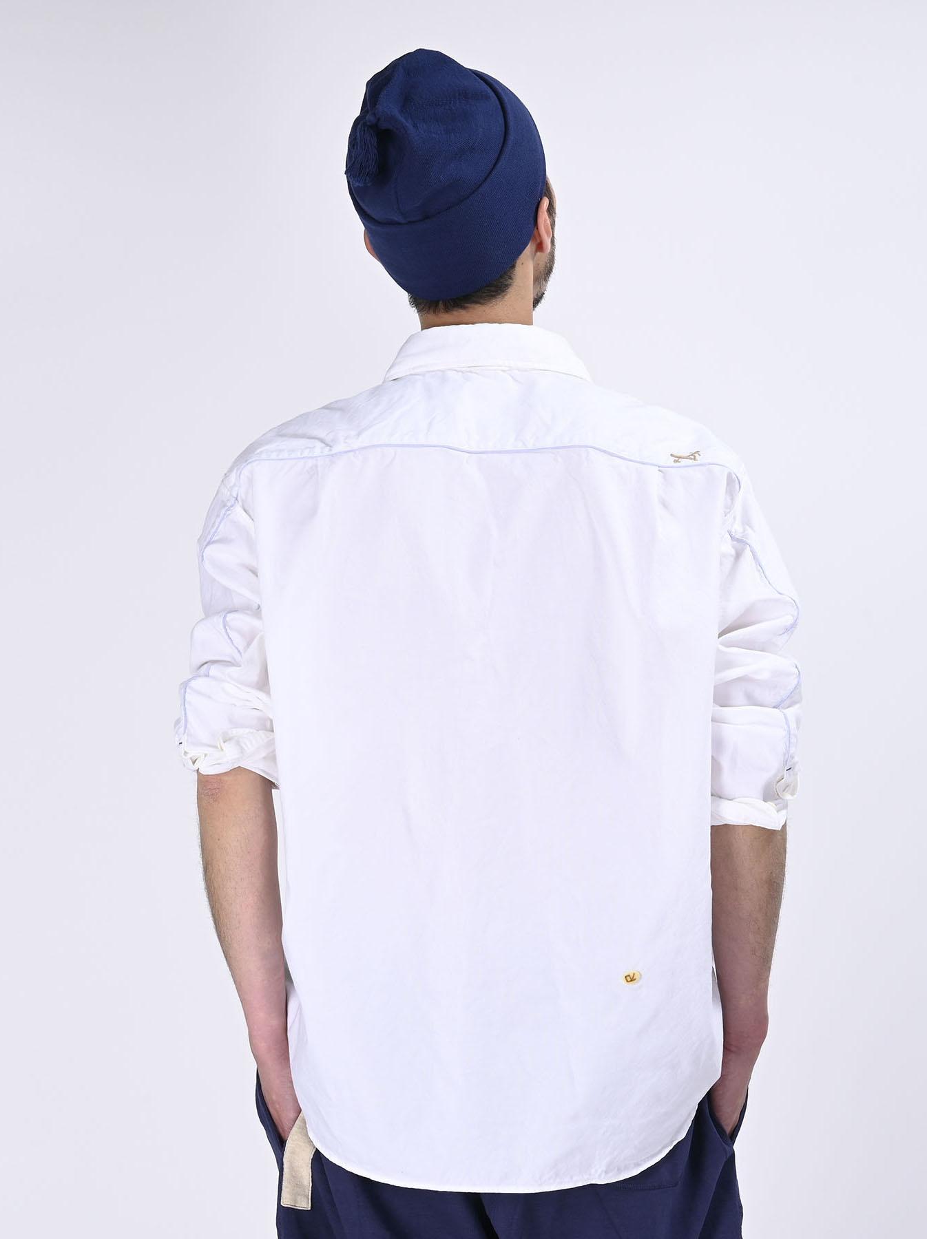 Thin Oxford Horizon Ocean Shirt (0621)-6