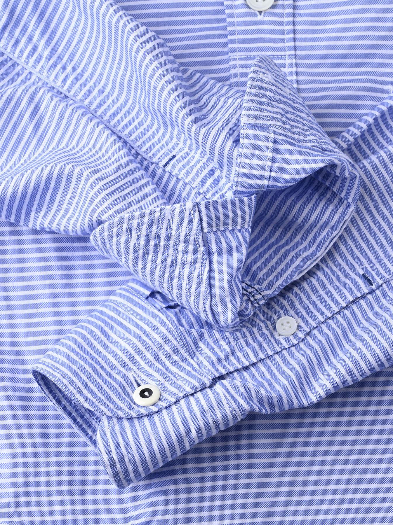 Thin Oxford Horizon Ocean Shirt (0621)-12