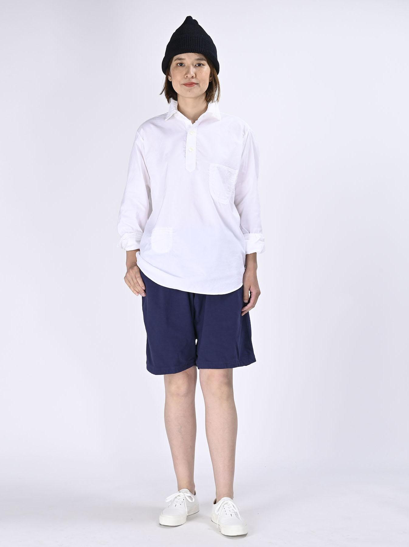 Thin Oxford Horizon Ocean Shirt (0621)-3