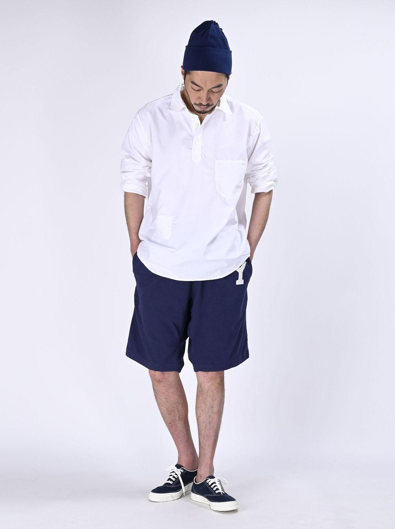 Thin Oxford Horizon Ocean Shirt (0621)-2