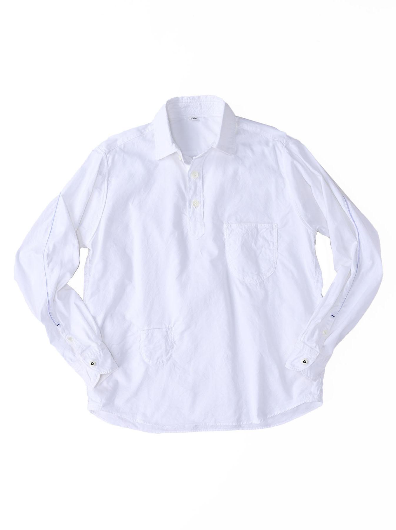 Thin Oxford Horizon Ocean Shirt (0621)-10