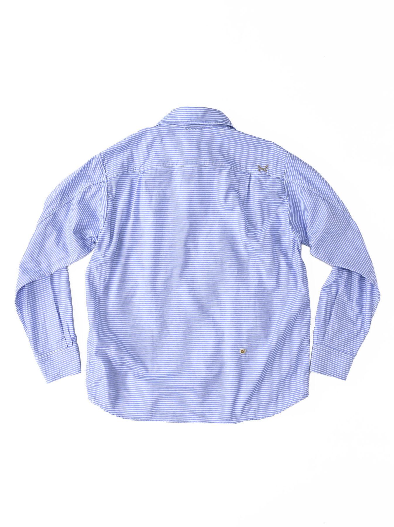 Thin Oxford Horizon Ocean Shirt (0621)-11