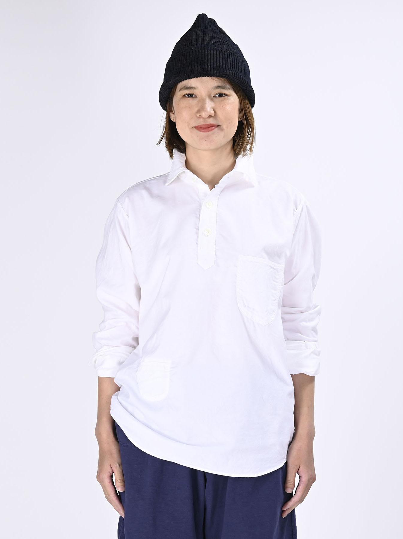 Thin Oxford Horizon Ocean Shirt (0621)-7