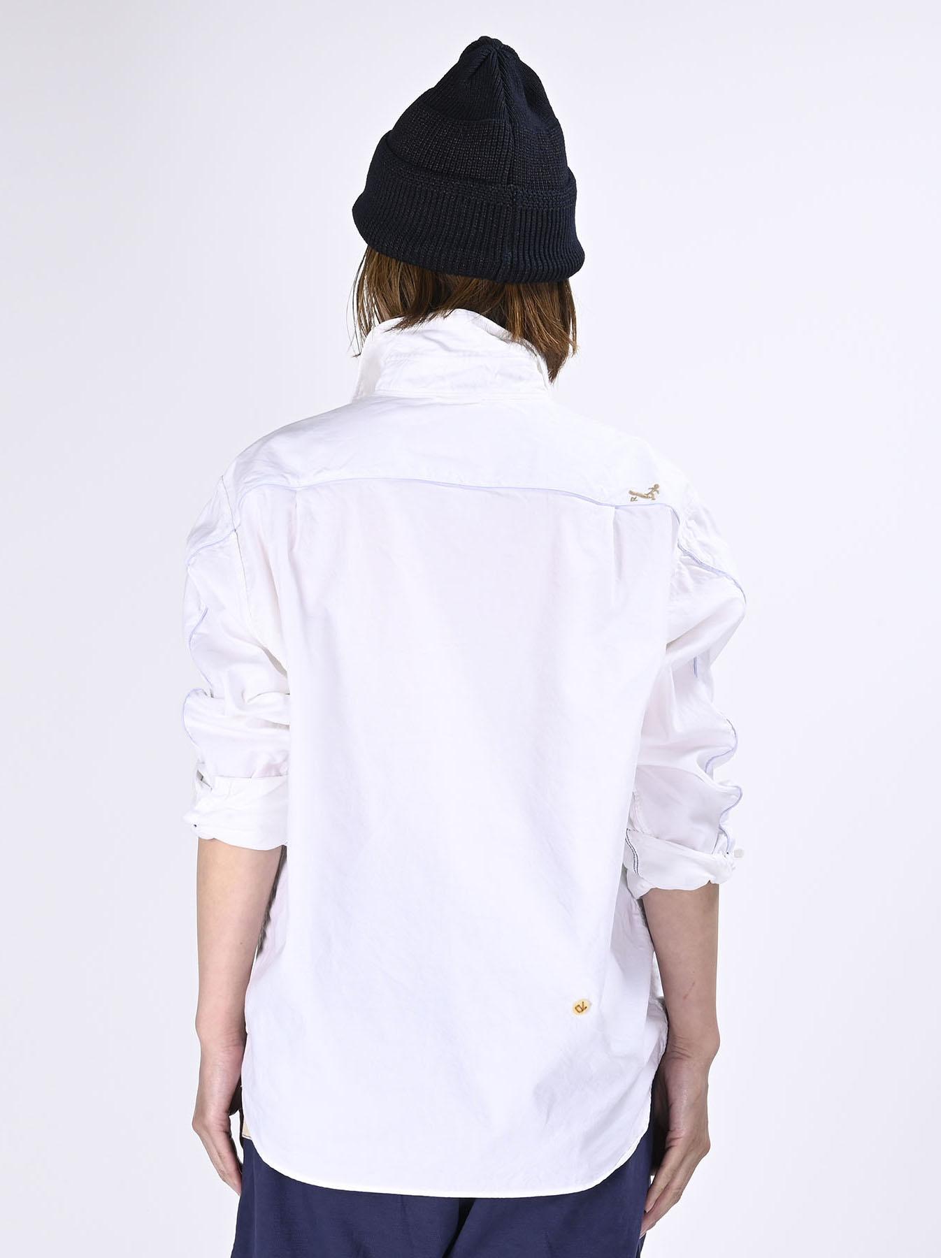 Thin Oxford Horizon Ocean Shirt (0621)-9