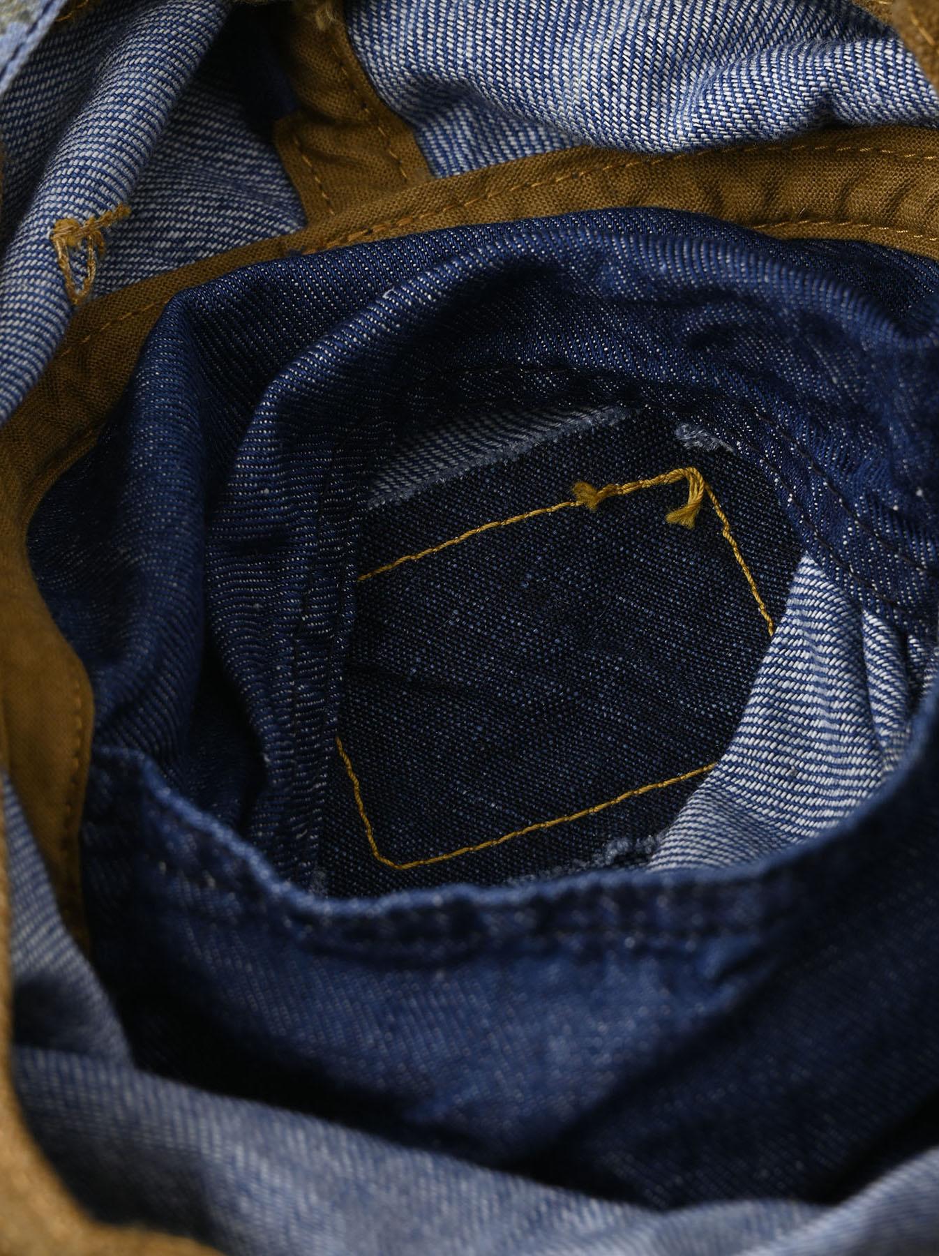 Cotton Lily Print Sail Hat (0621)-10