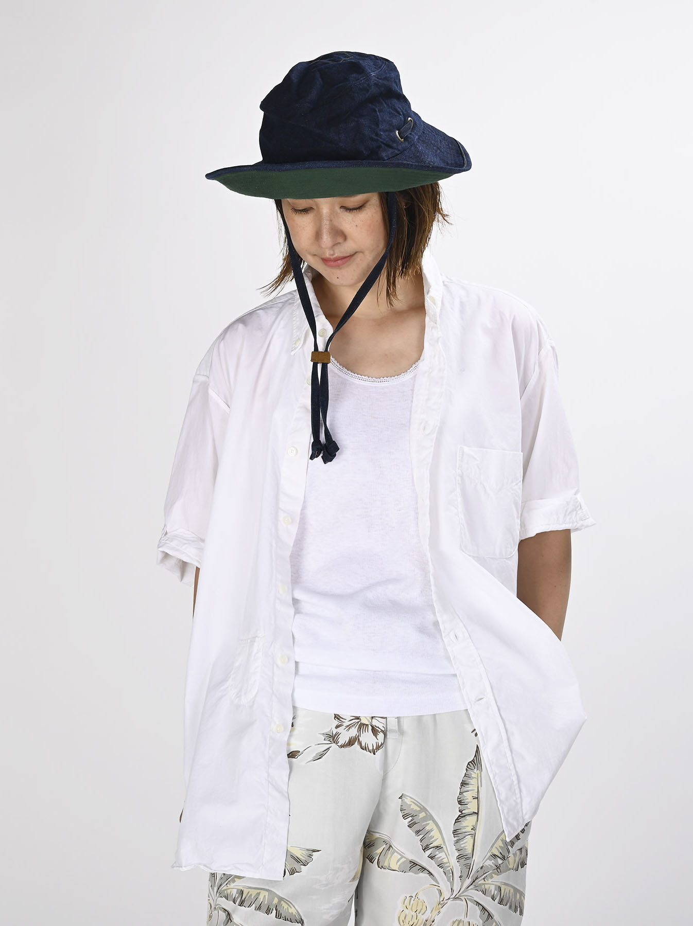 Damp Cotton Anuenue Ocean Shirt (0621)-9