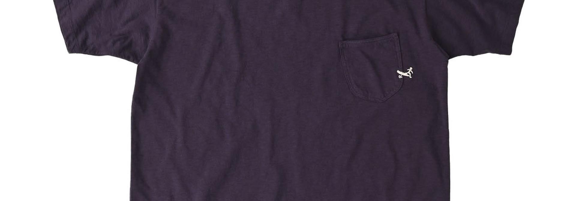 Hayama-kun Embroidered 908 Ocean T-shirt (0621)