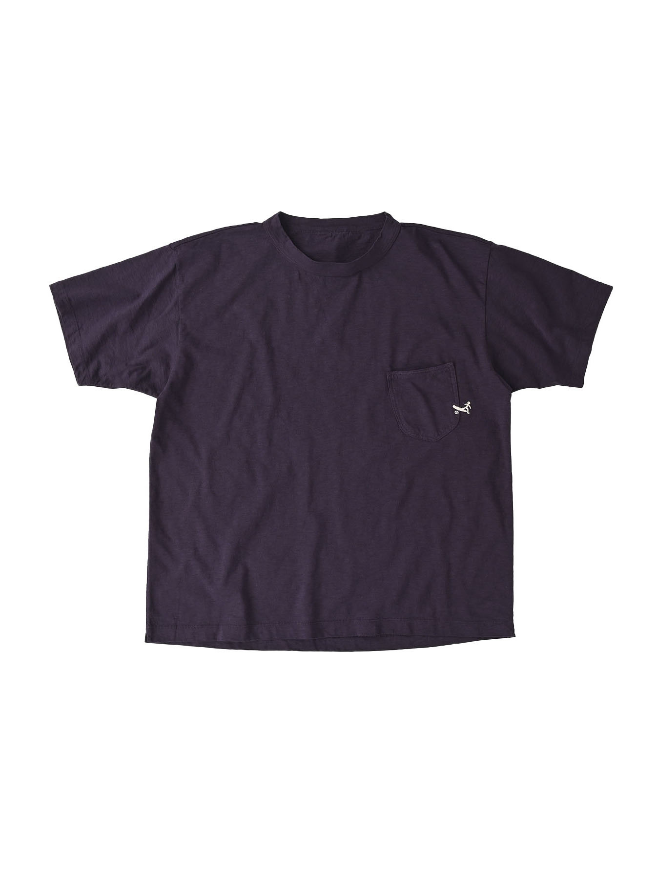 Hayama-kun Embroidered 908 Ocean T-shirt (0621)-1