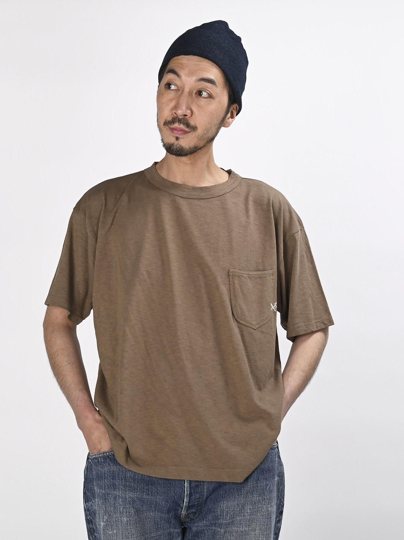 Hayama-kun Embroidered 908 Ocean T-shirt (0621)-3