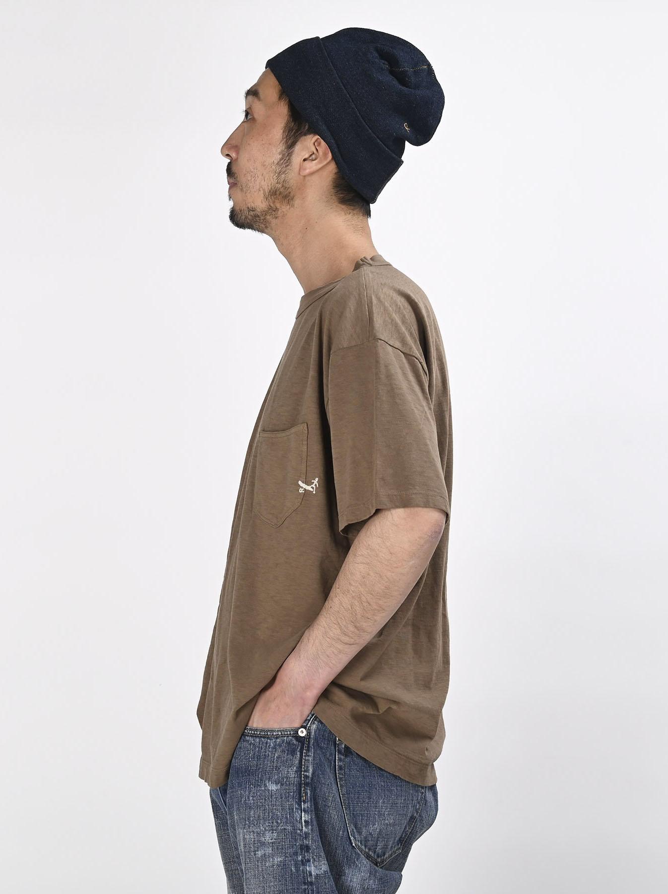 Hayama-kun Embroidered 908 Ocean T-shirt (0621)-4