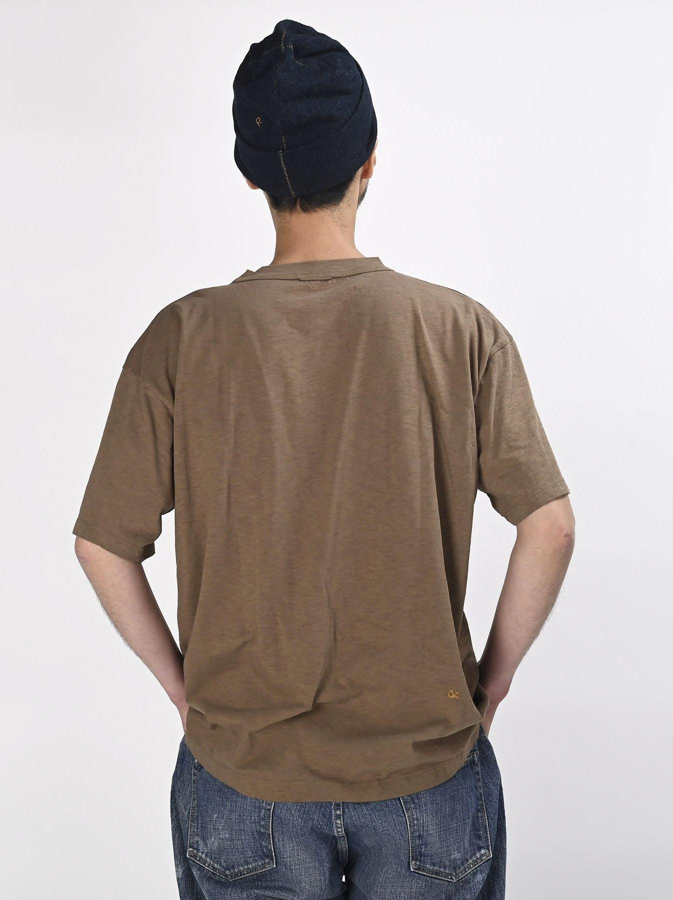 Hayama-kun Embroidered 908 Ocean T-shirt (0621)-5
