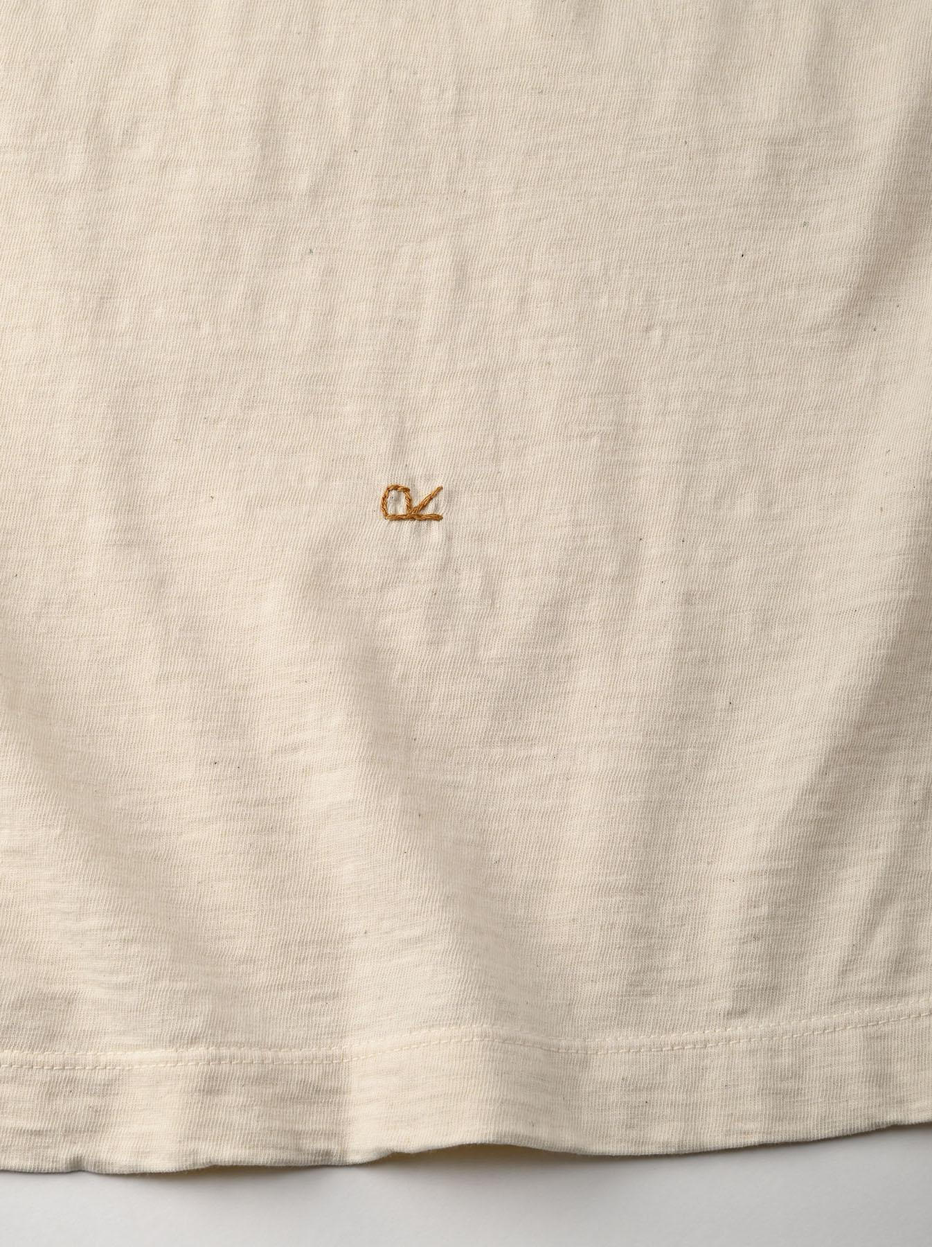Hayama-kun Embroidered 908 Ocean T-shirt (0621)-11