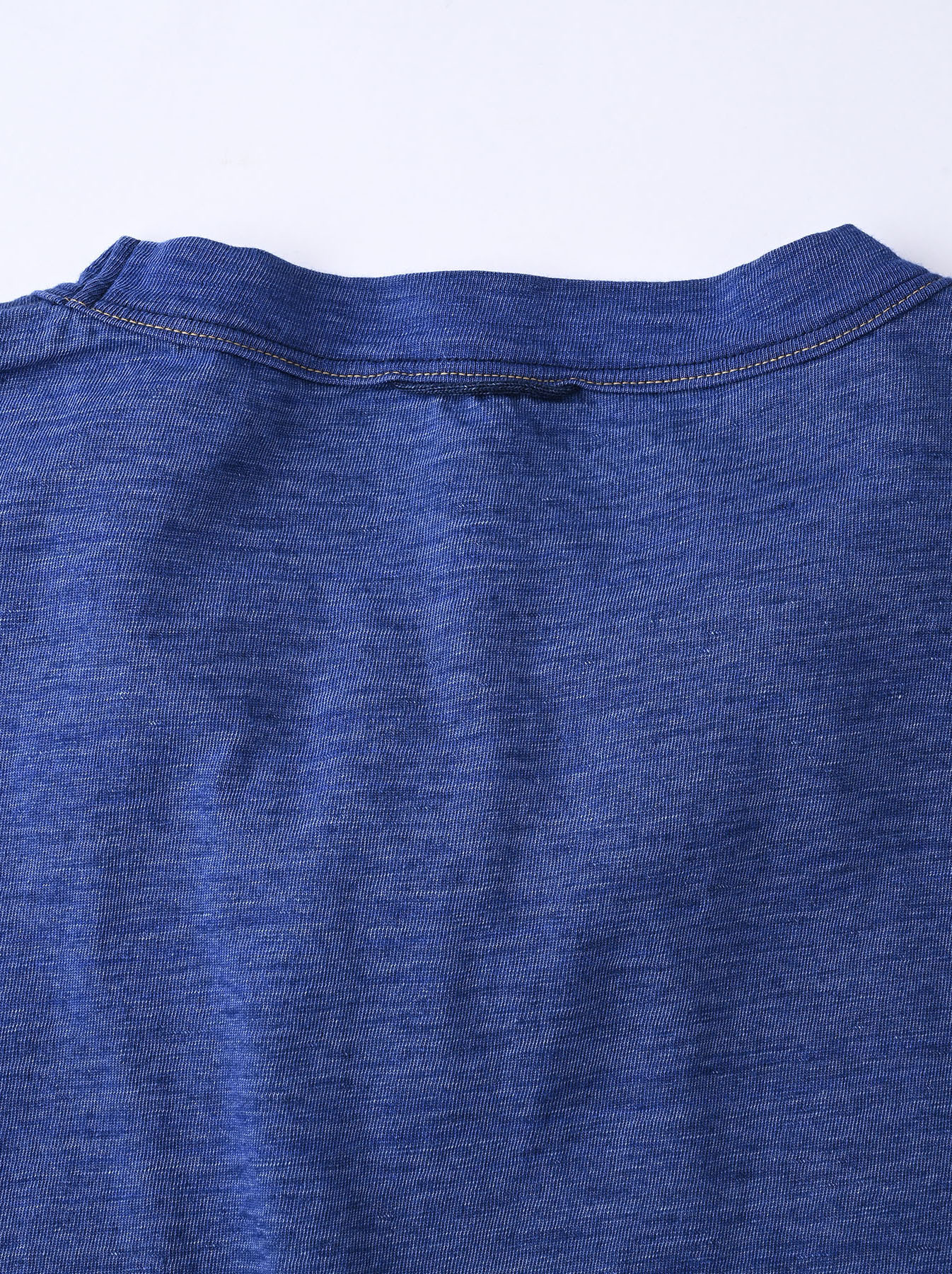 Indigo Tenjiku Lei Frill Ocean T-shirt (0621)-9