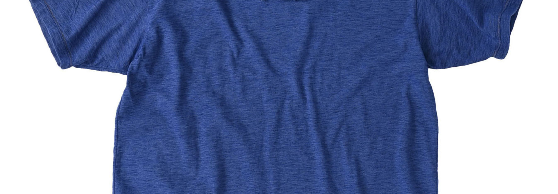 Indigo Tenjiku Lei Frill Ocean T-shirt (0621)