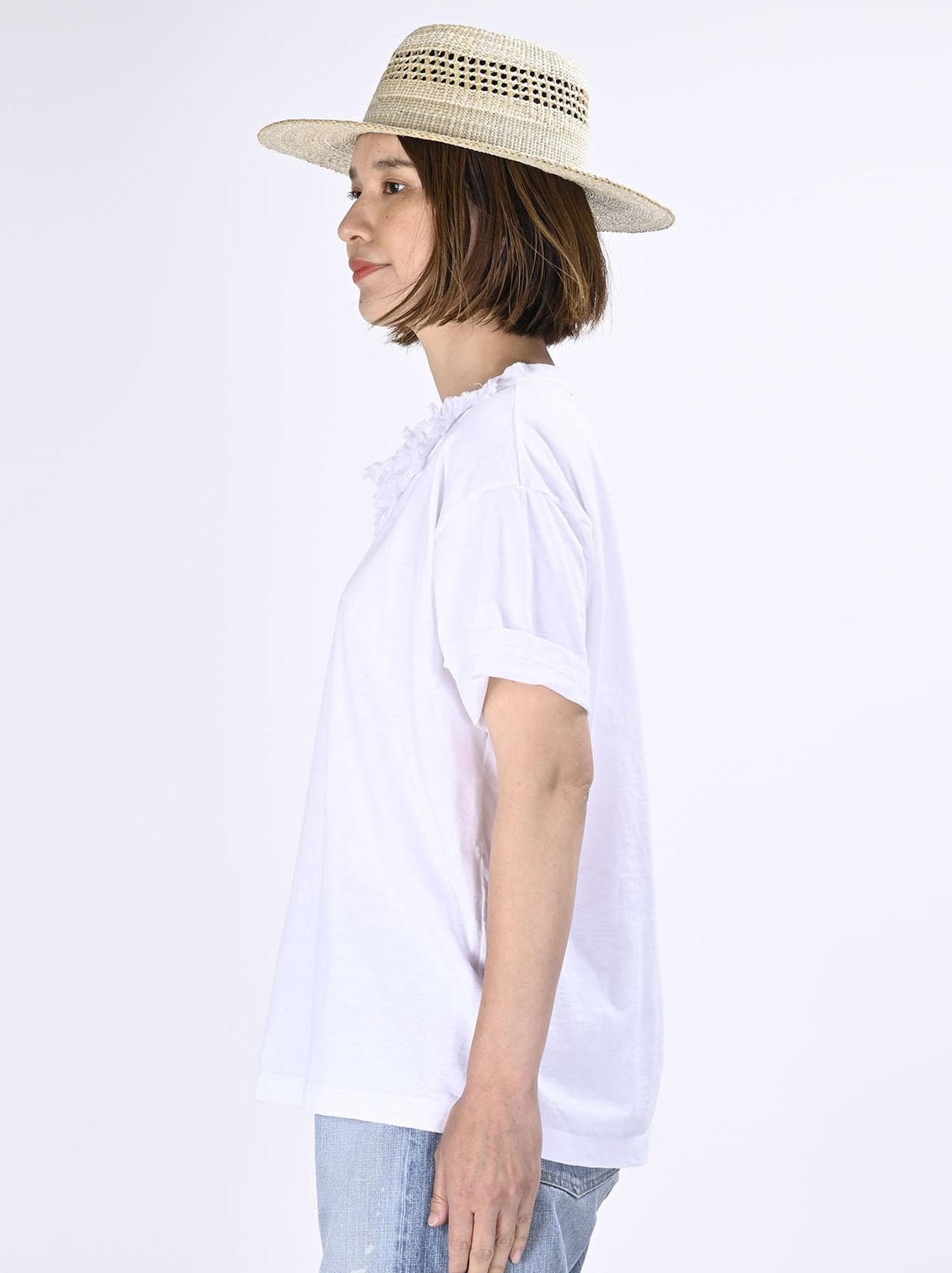 Lei Frill Ocean T-shirt (0621)-4