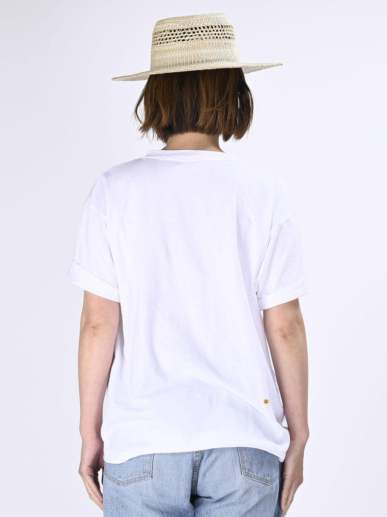 Lei Frill Ocean T-shirt (0621)-5