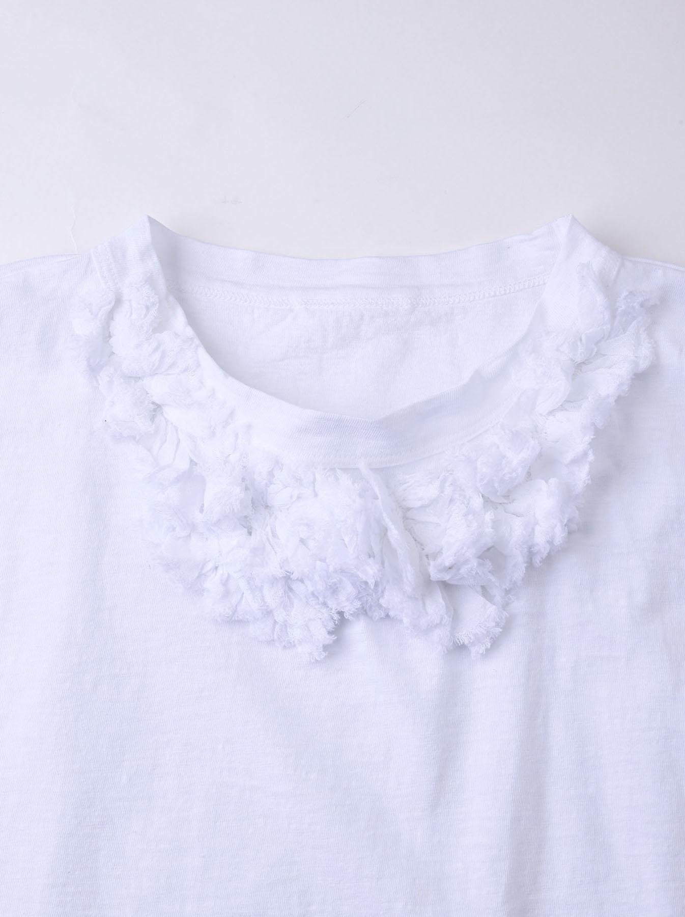 Lei Frill Ocean T-shirt (0621)-7