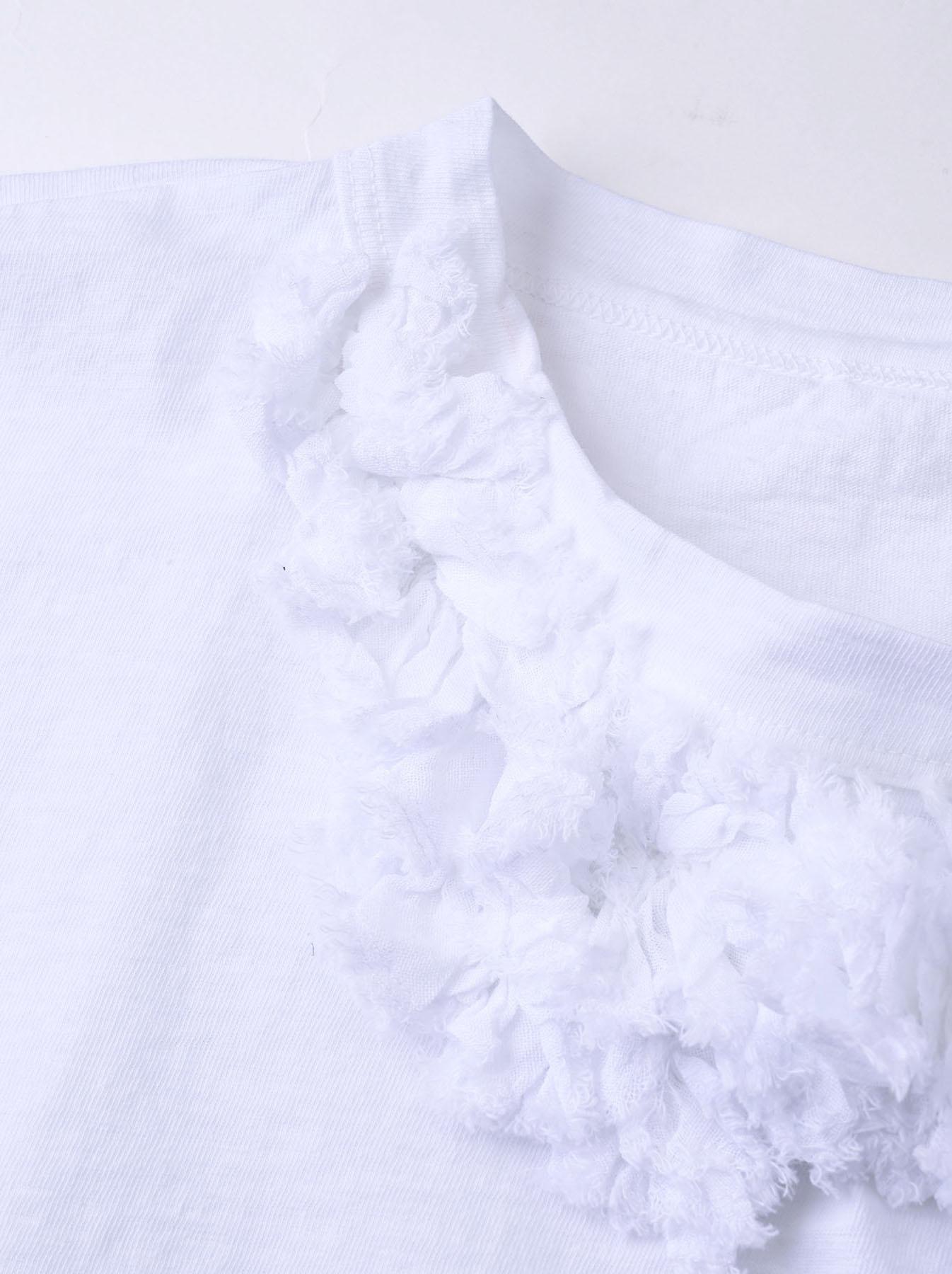 Lei Frill Ocean T-shirt (0621)-8