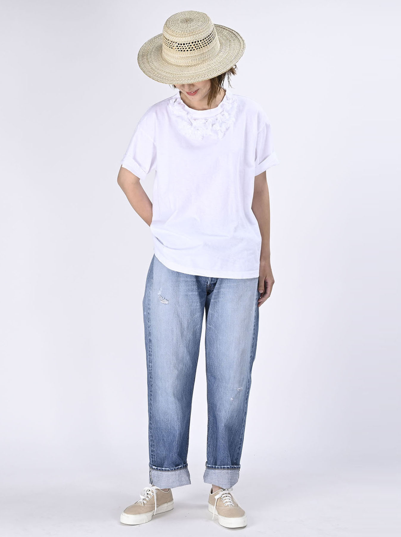 Lei Frill Ocean T-shirt (0621)-2
