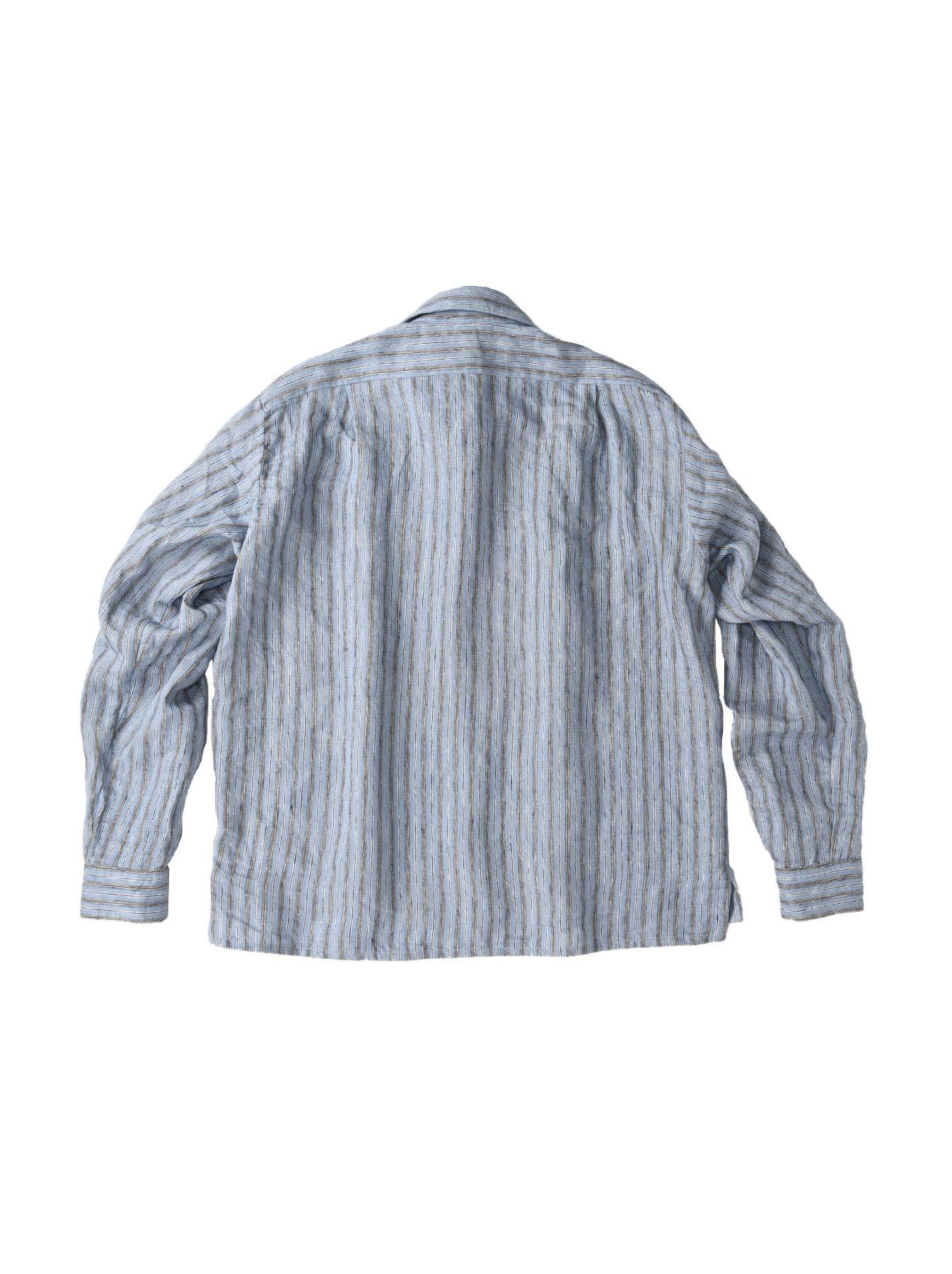 Indian Linen Twill 908 Shirt (0621)-12