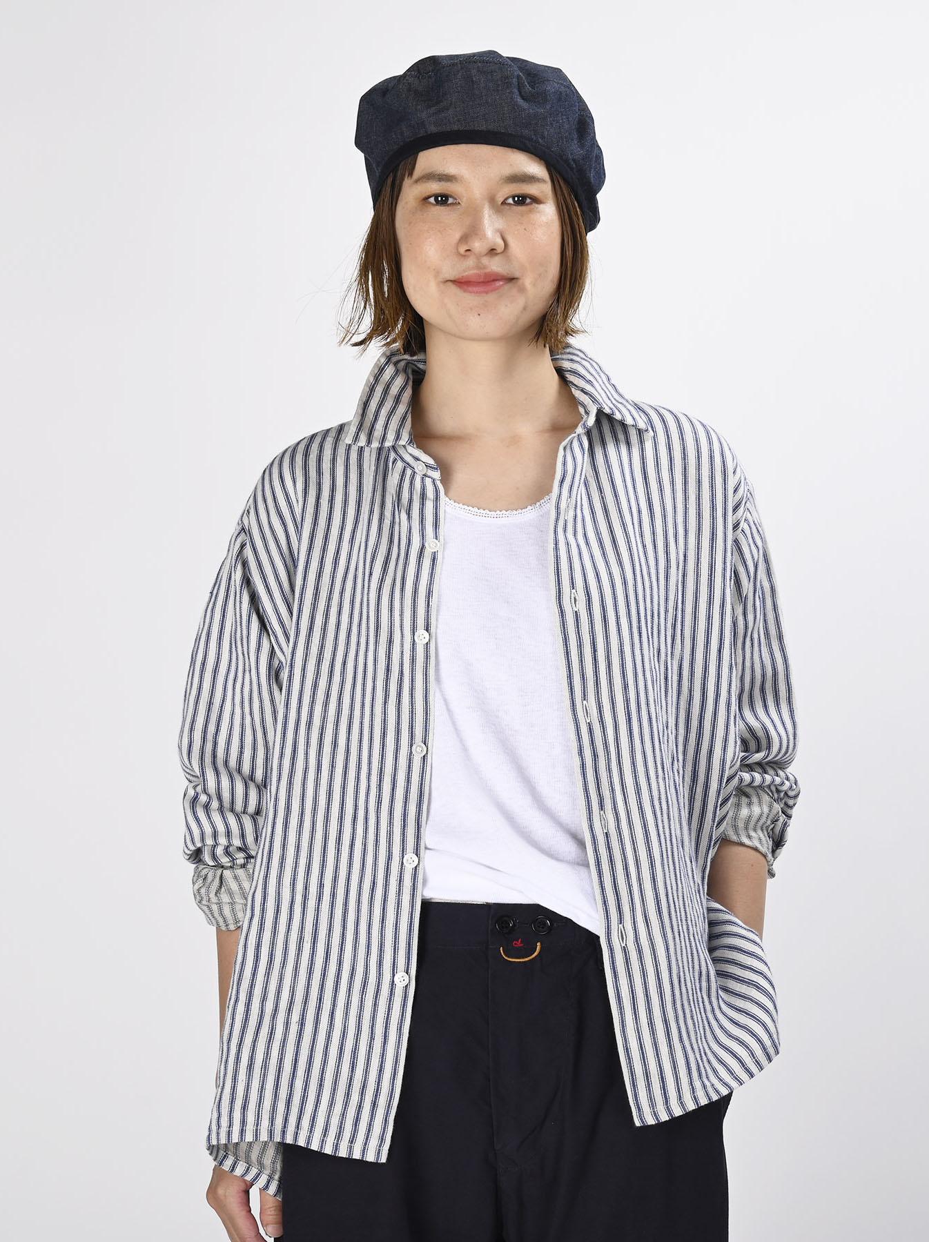 Indian Linen Twill 908 Shirt (0621)-3